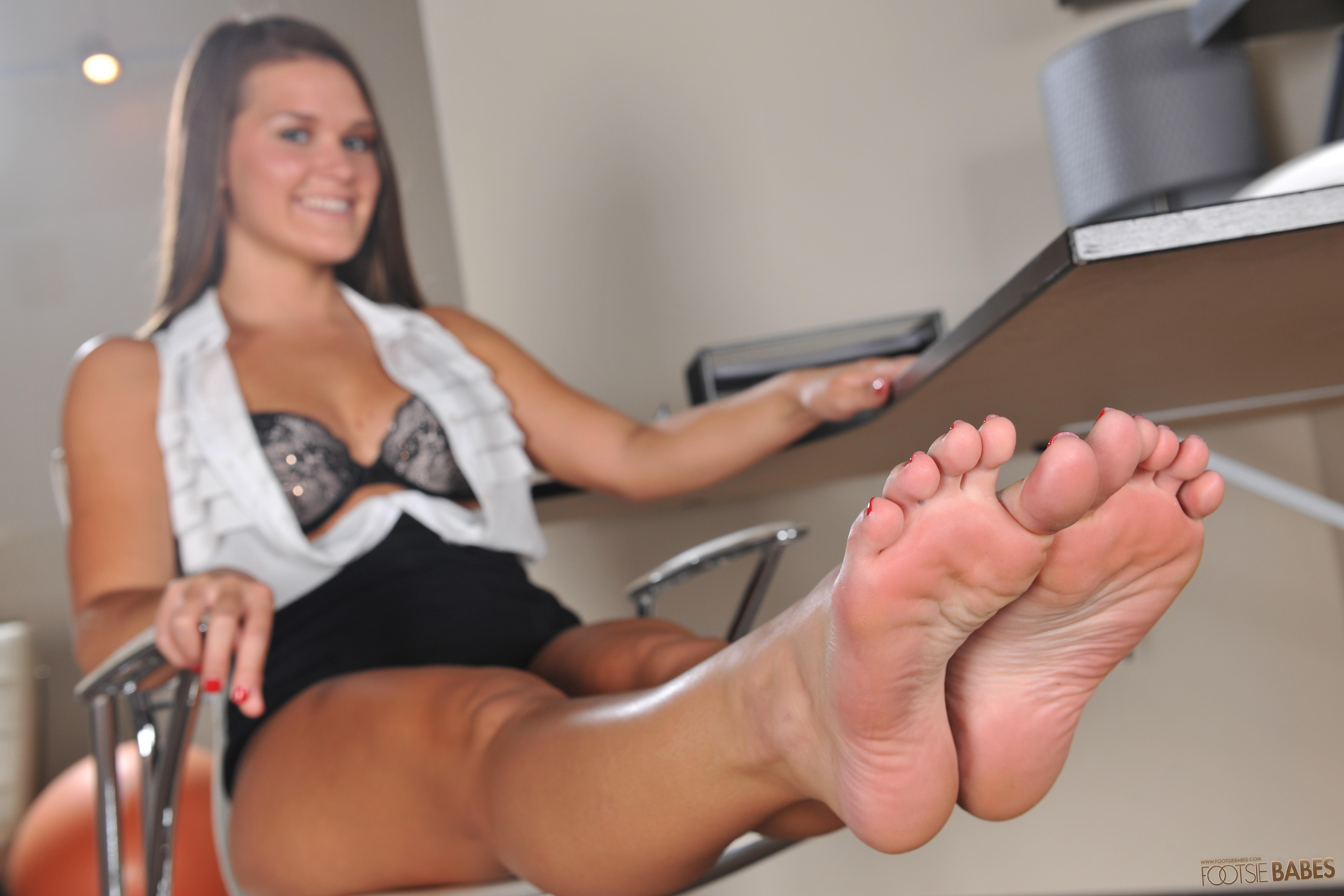 Abby Cross Feet