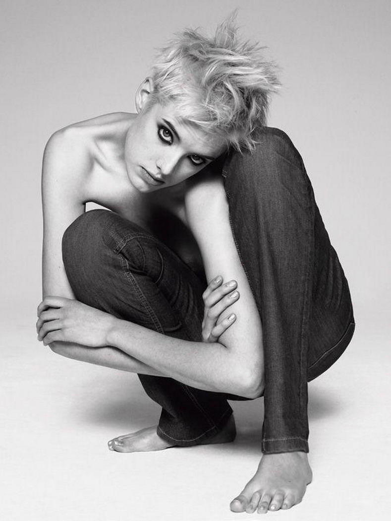 Image result for agyness deyn black and white