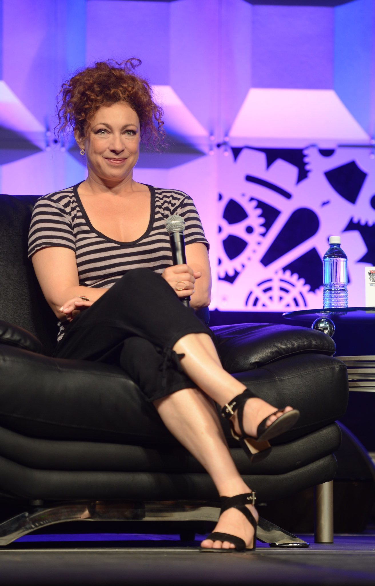 Sideboobs Feet Alex Kingston naked photo 2017