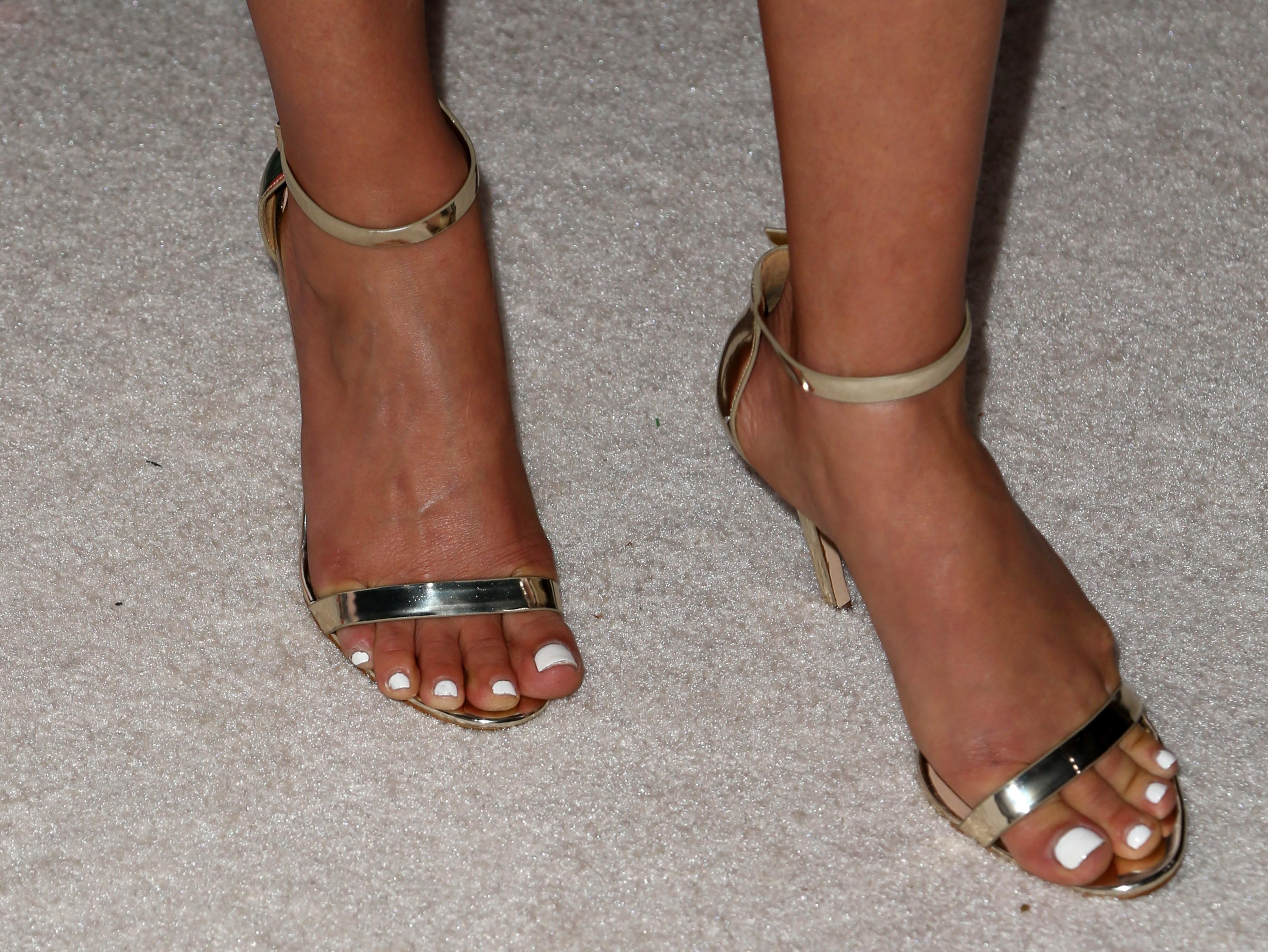 Ali Larter's Feet K Michelle 2013