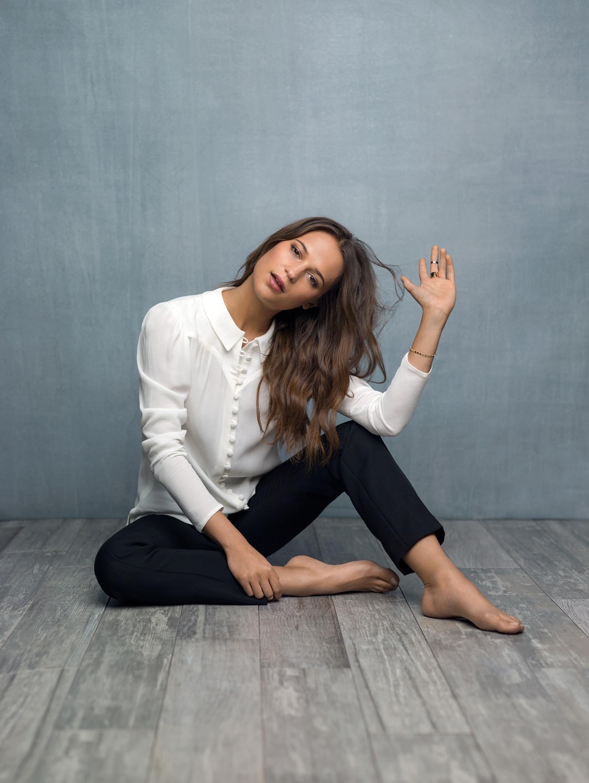 Alicia Vikanders Feet