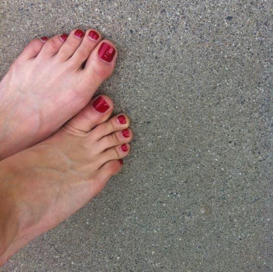 amber chase feet