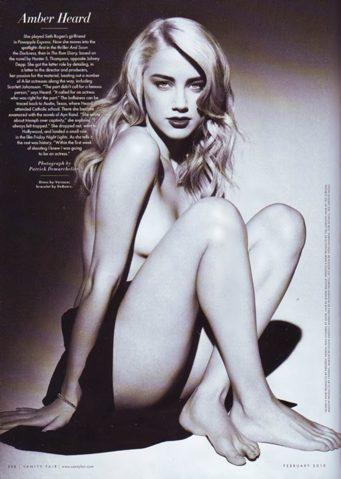 Amber Heard Is The Most Scientifically Beautiful Woman: Stunning And Magnificent Examples Of Sumptuous Delights