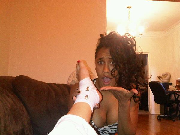 Amber Meade's Feet