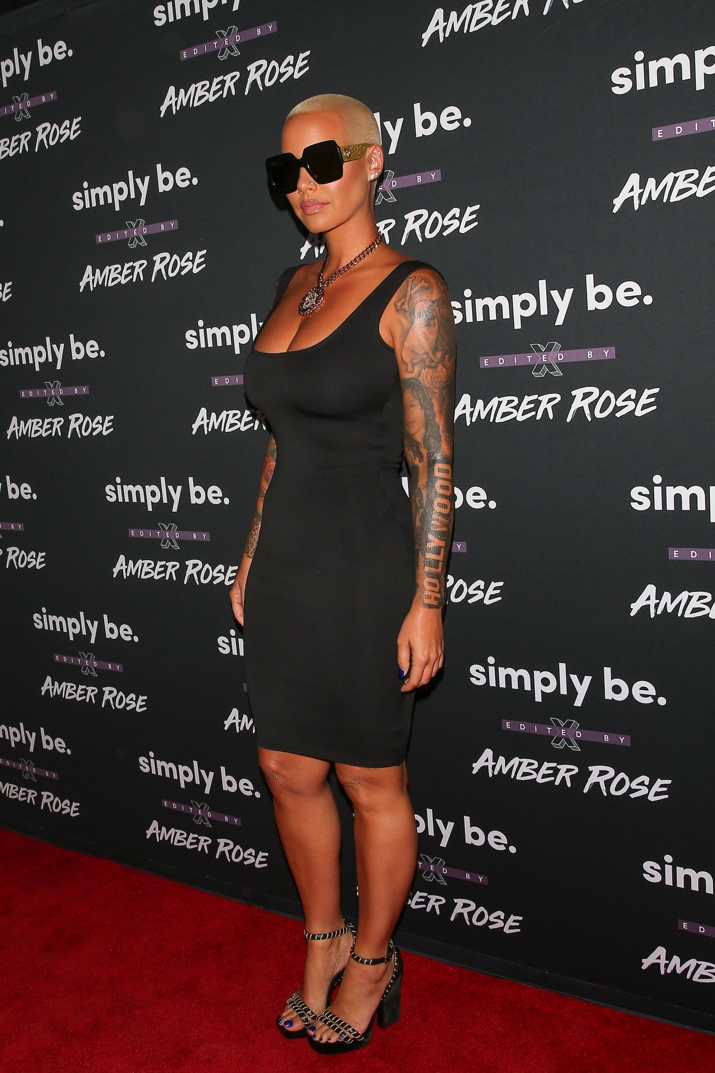 Feet Amber Rose nude (33 photo), Fappening