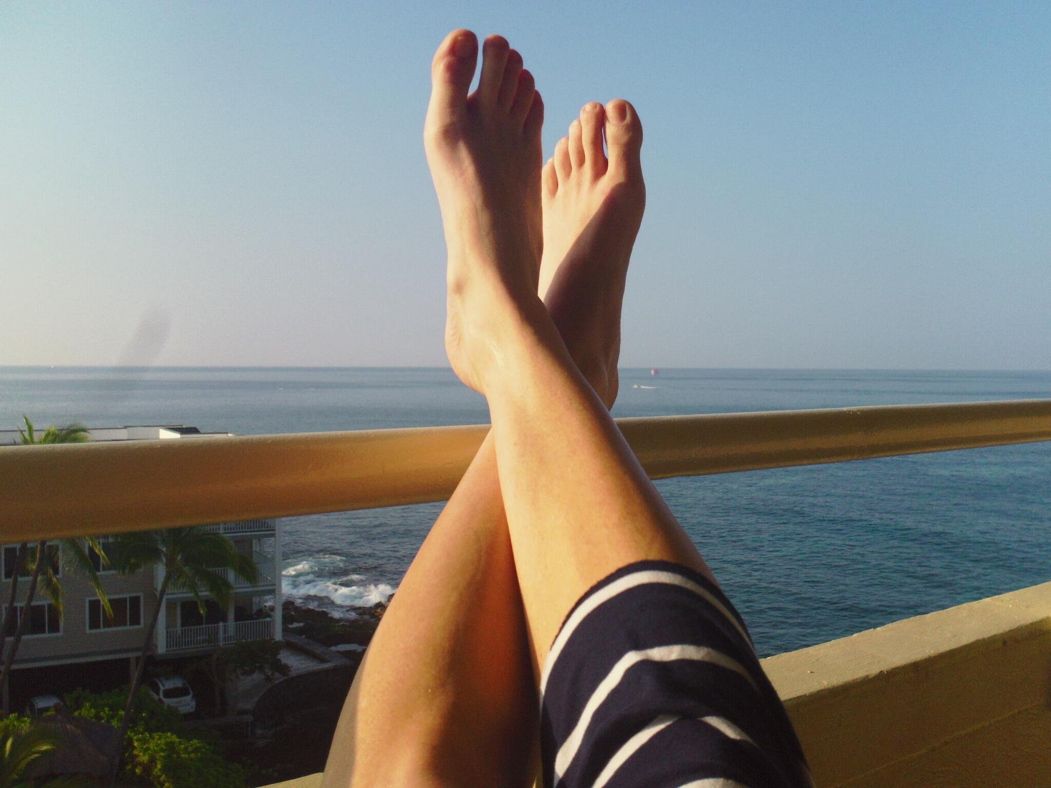 Andrea Elsons Feet