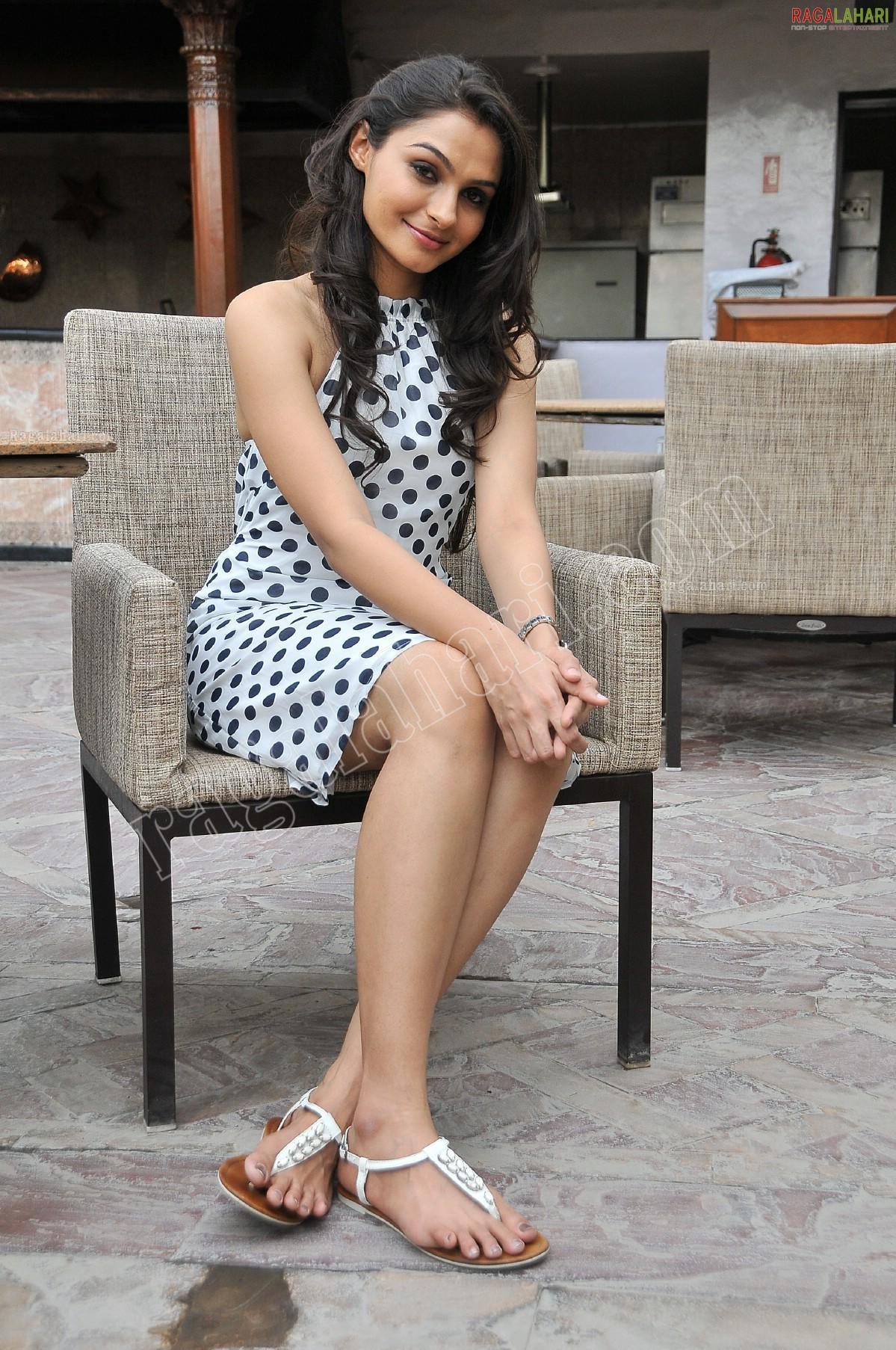 Andriya Hot Images andrea jeremiah's feet << wikifeet