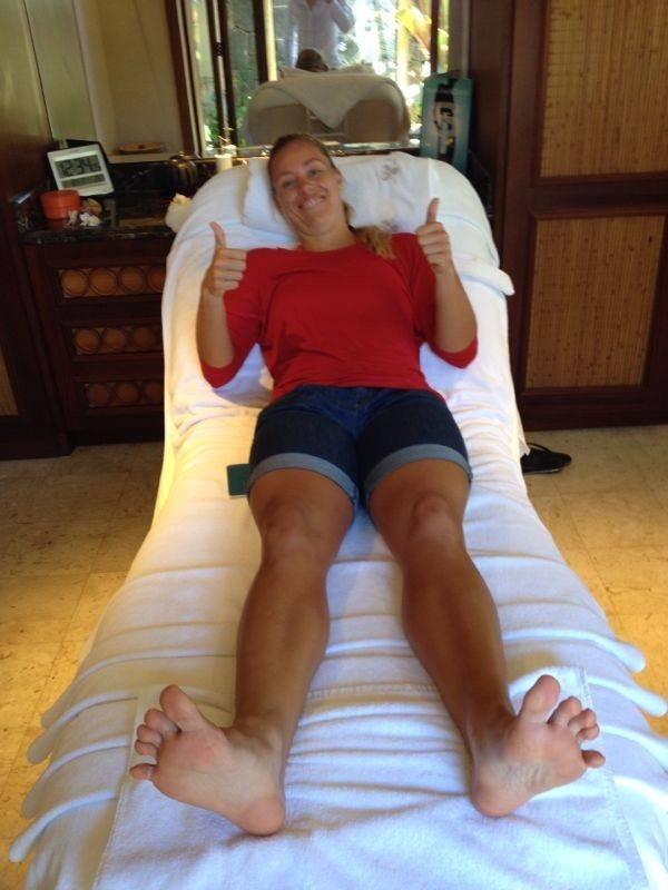 Female player feet and toes page 10 menstennisforums angie kerber grand slam champion voltagebd Image collections