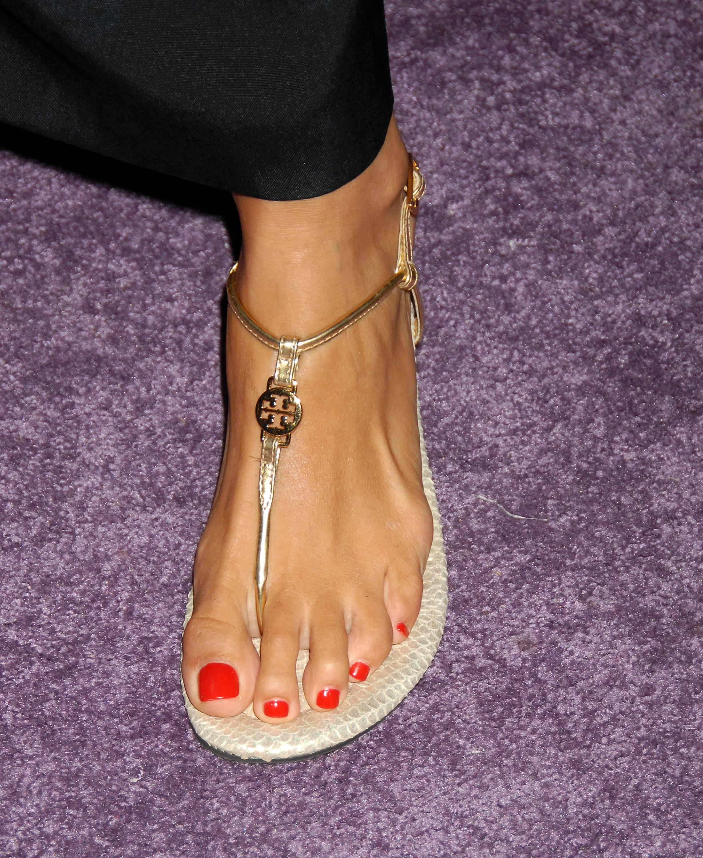 Angie Harmons Feet