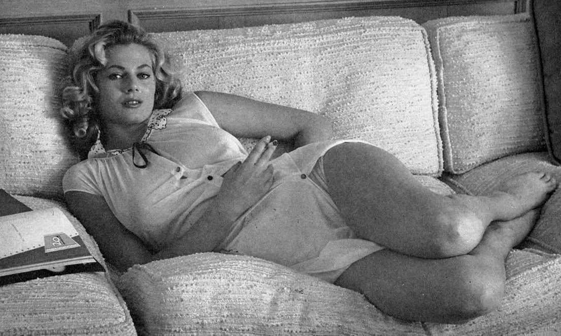 Anita Ekbergs Feet << wikiFeet