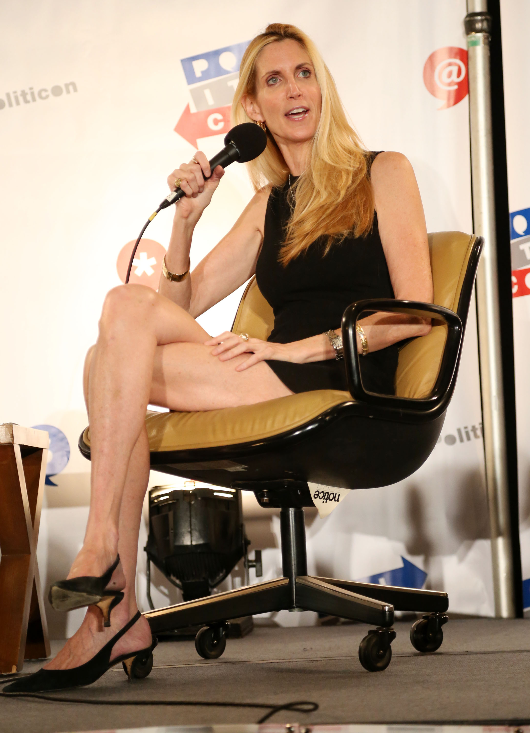 ann coulter photo long legs