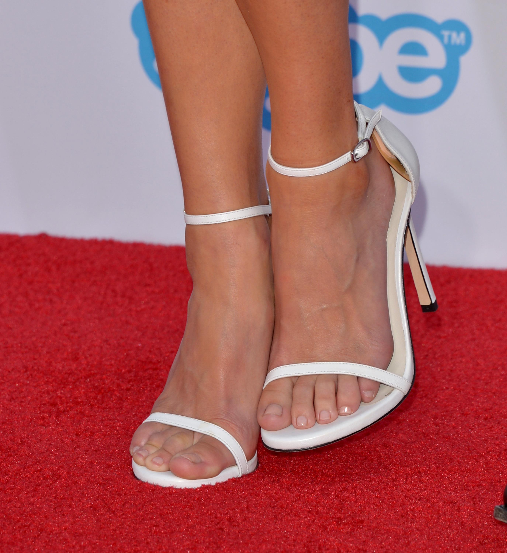 Anna Faris S Feet