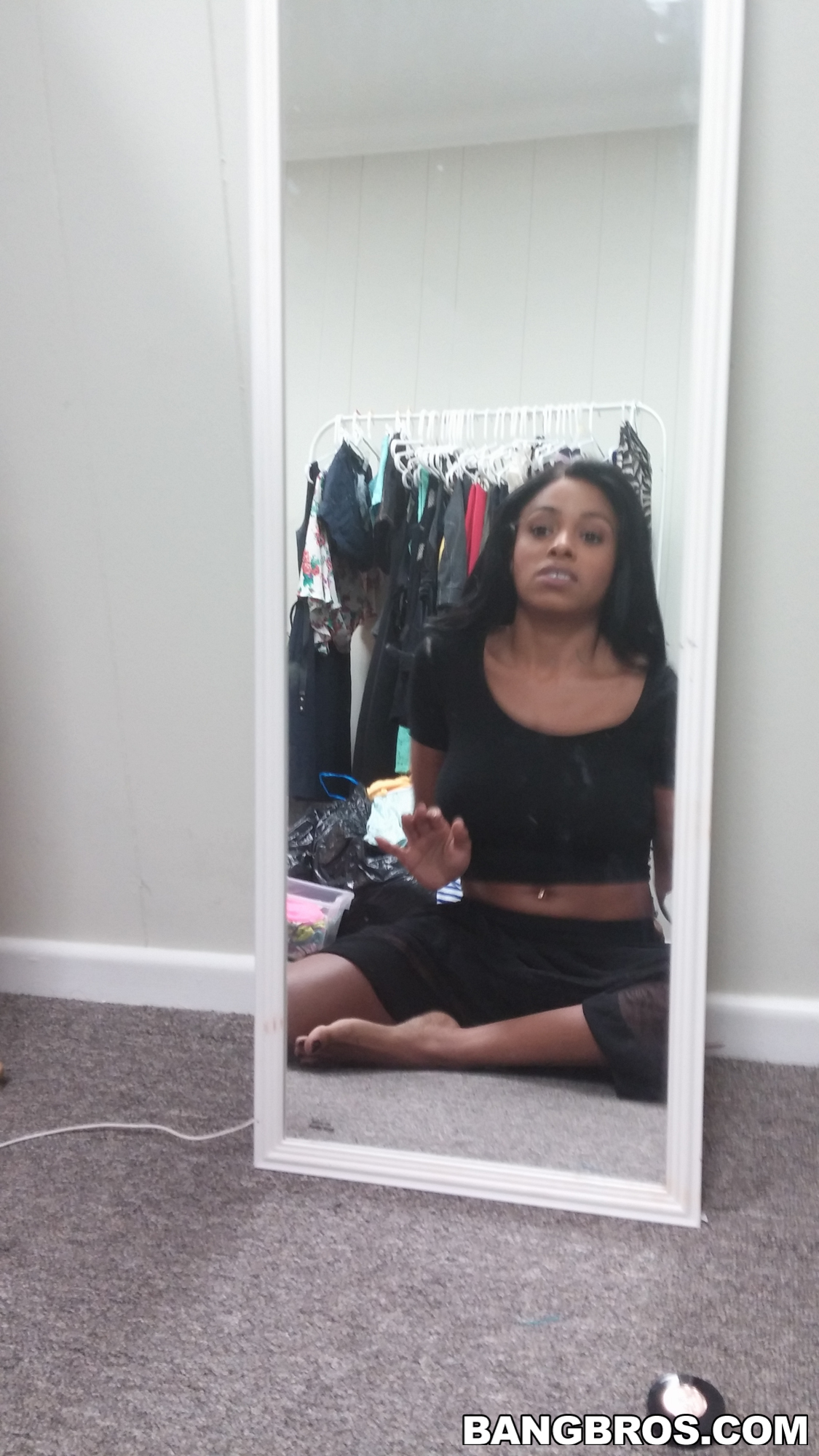 Tiny petite babe Anya Ivy black girl -PORN.COM