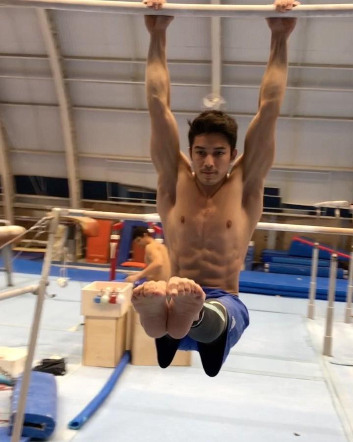 Nude marcel nguyen Gymnastics