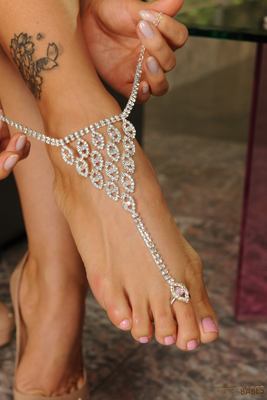 Sexy Ebony Feet Toes  Hot Girl Hd Wallpaper-8329