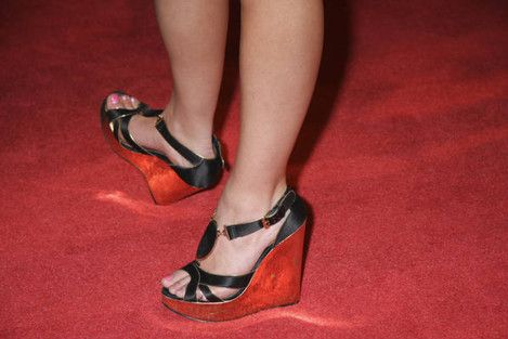Ashley Leggat S Feet