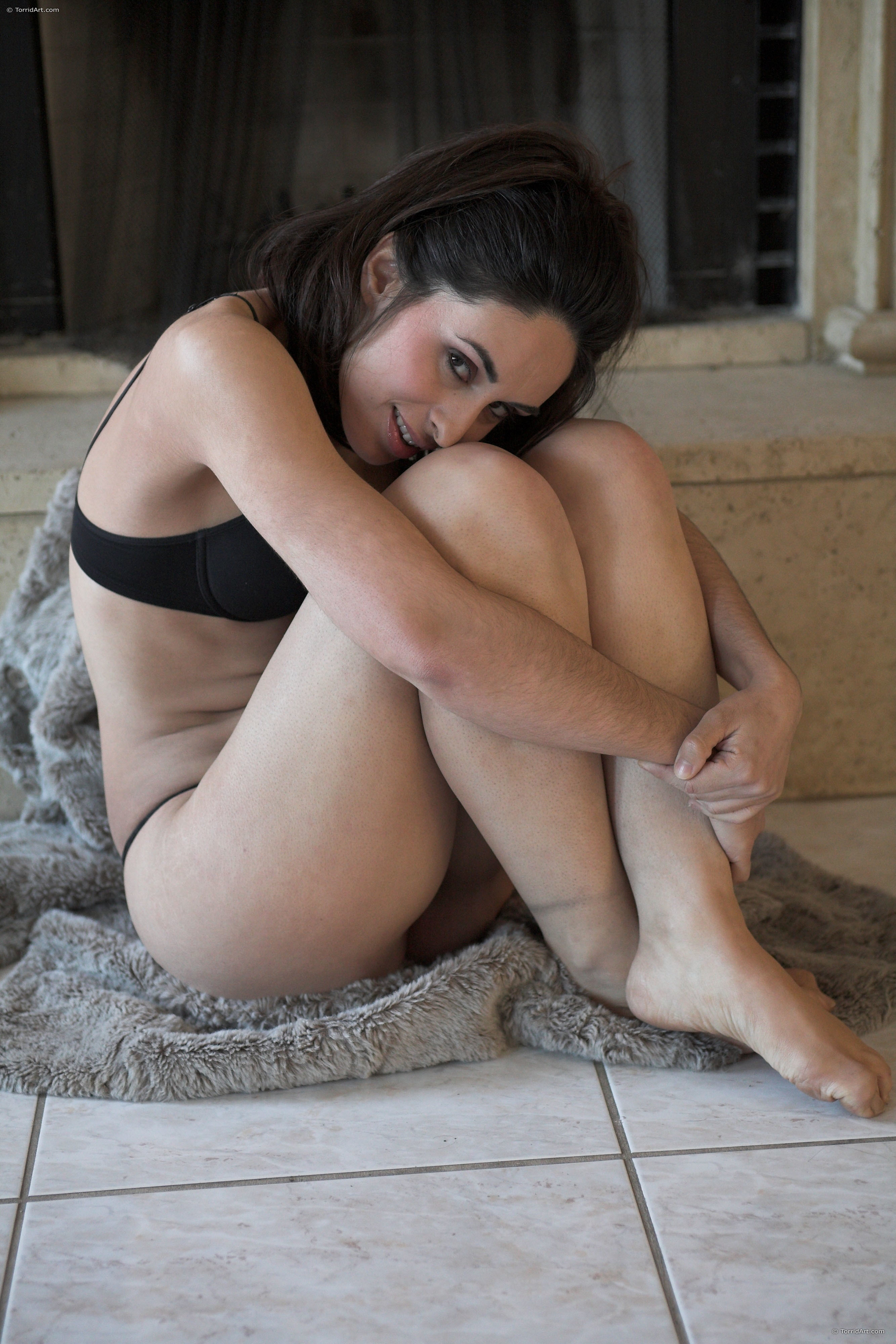 Asun Ortega  nackt