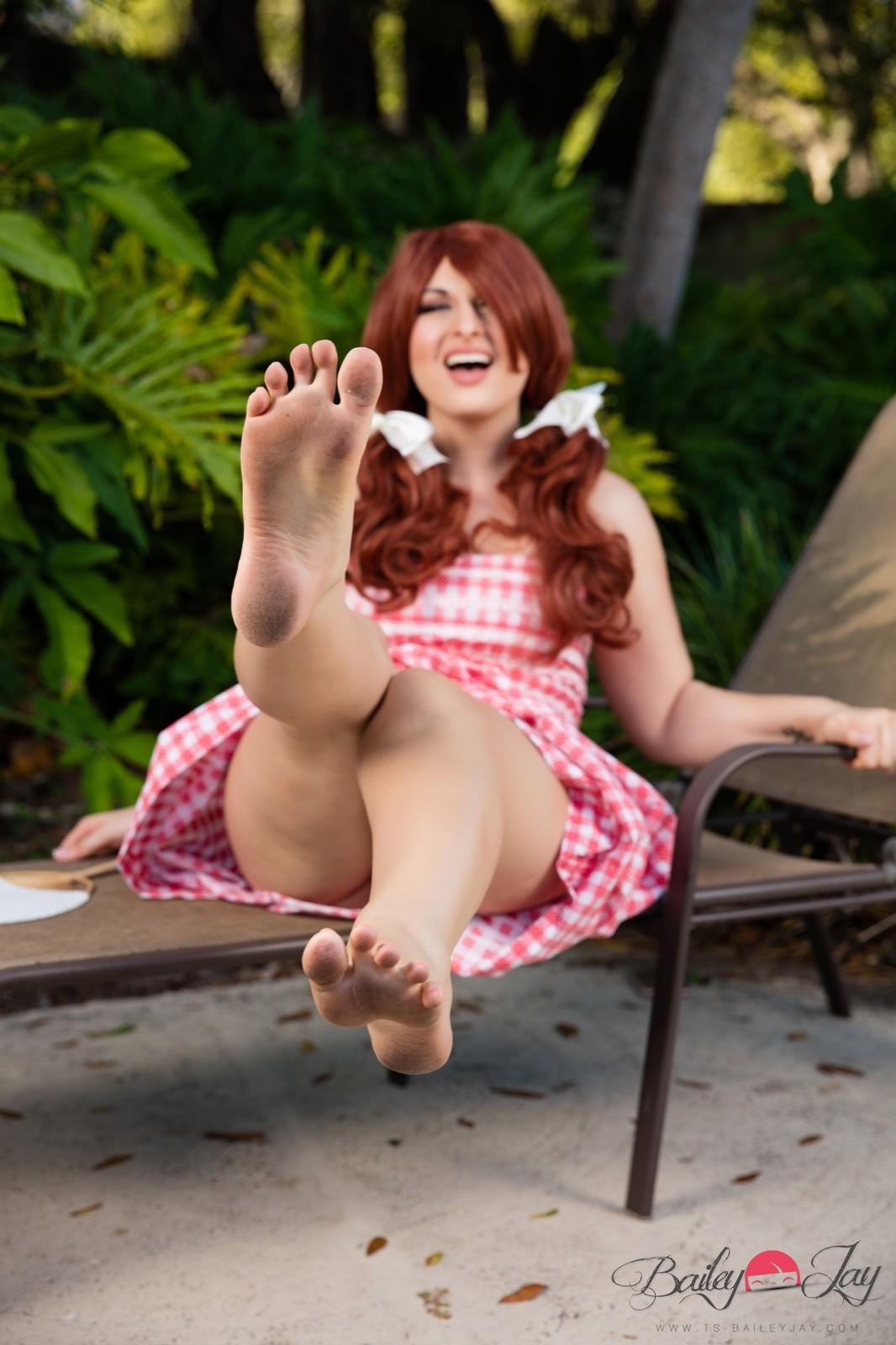 Bailey jay feet
