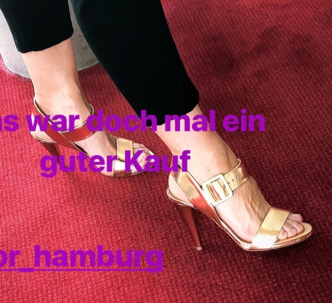 Frau Barbaras Füße Foto