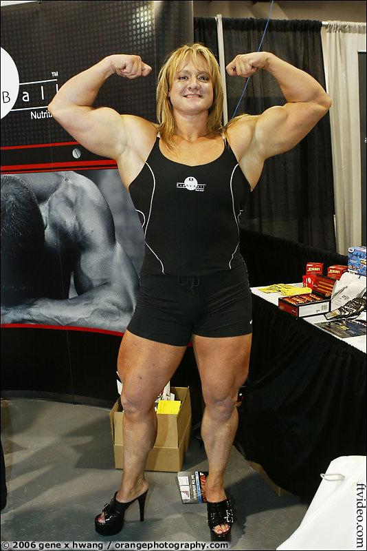 Female Bodybuilder with Incredibly Tasty Huge Clit Porn 68