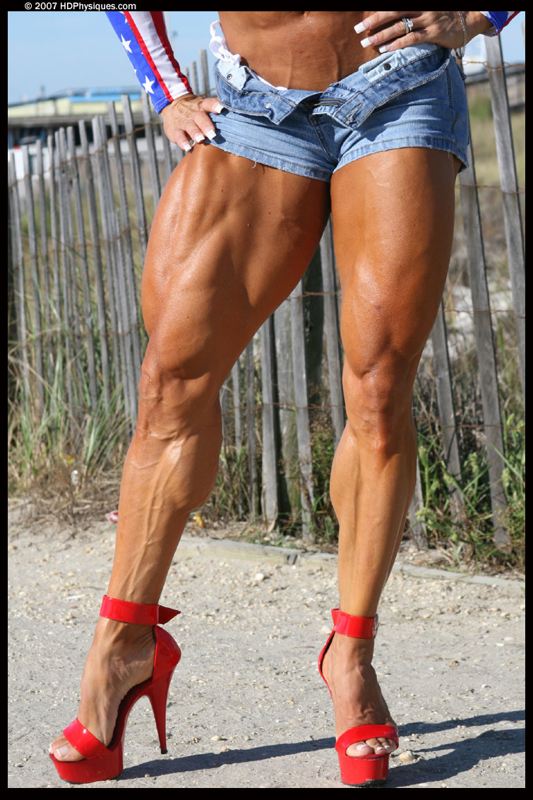 naked muscular thighs on women