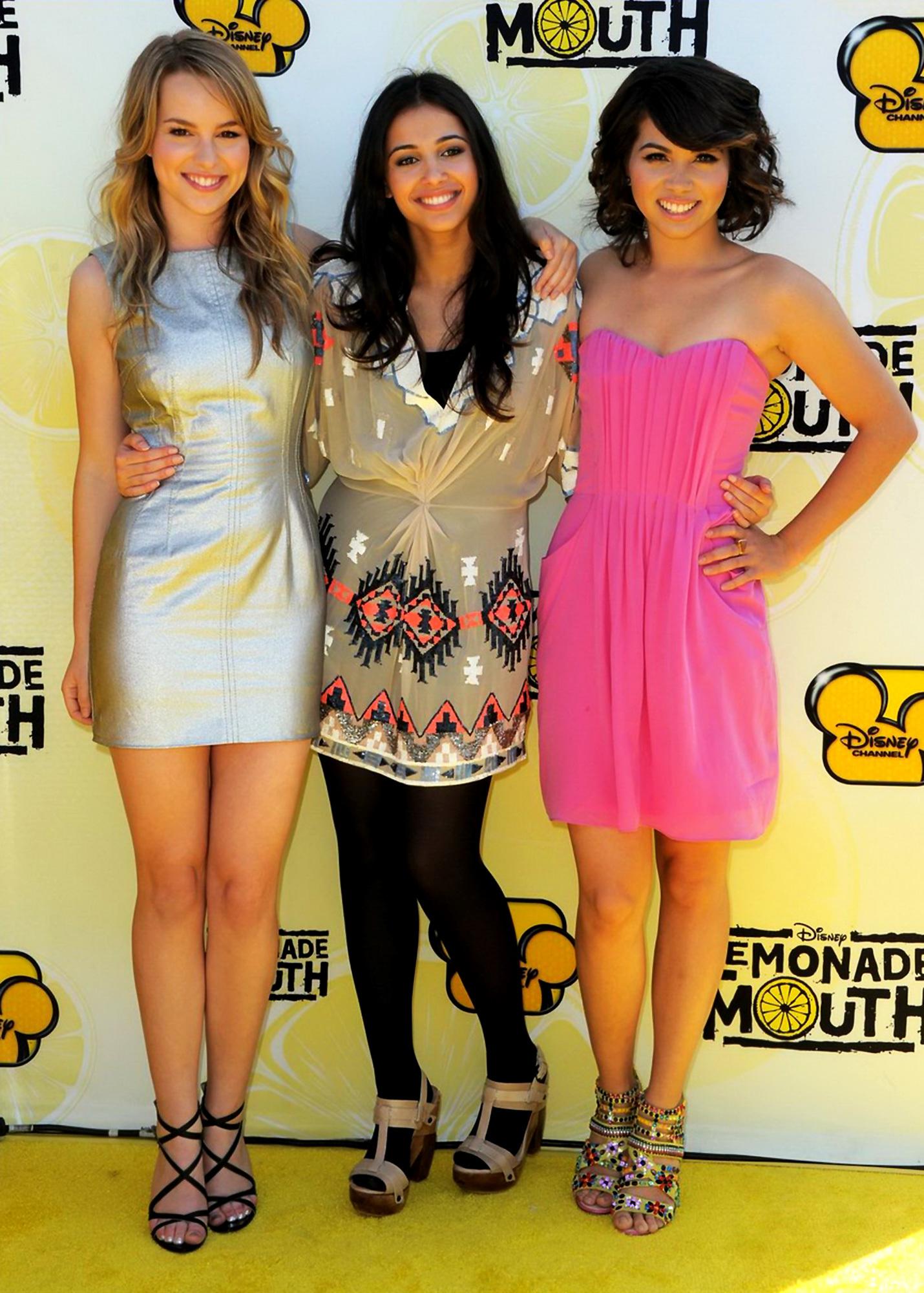Bridgit Mendler Photos Photos - Premiere Of Disney Channel ...  |Bridgit Mendler Lemonade Mouth