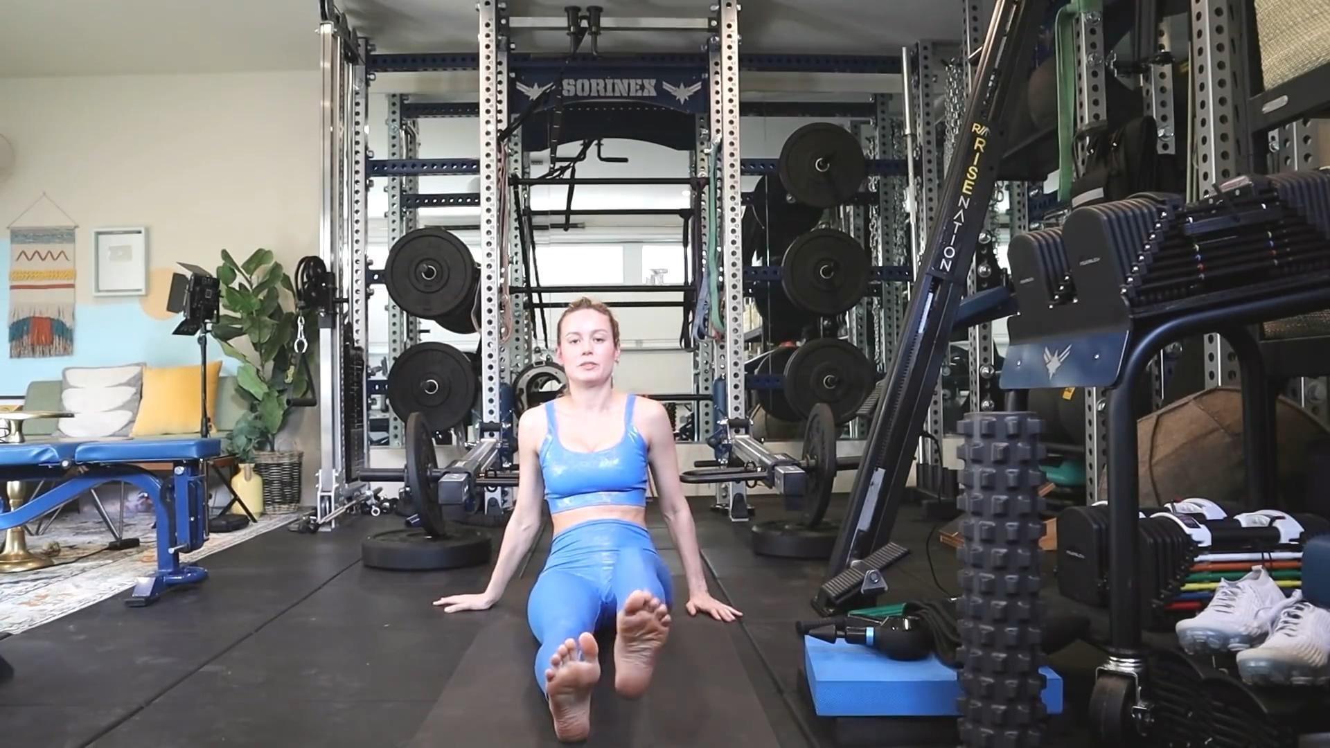 Larson wikifeet brie Celebrity Legs