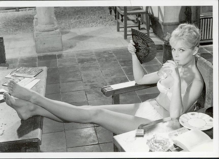 Brigitte bardots sexy foot