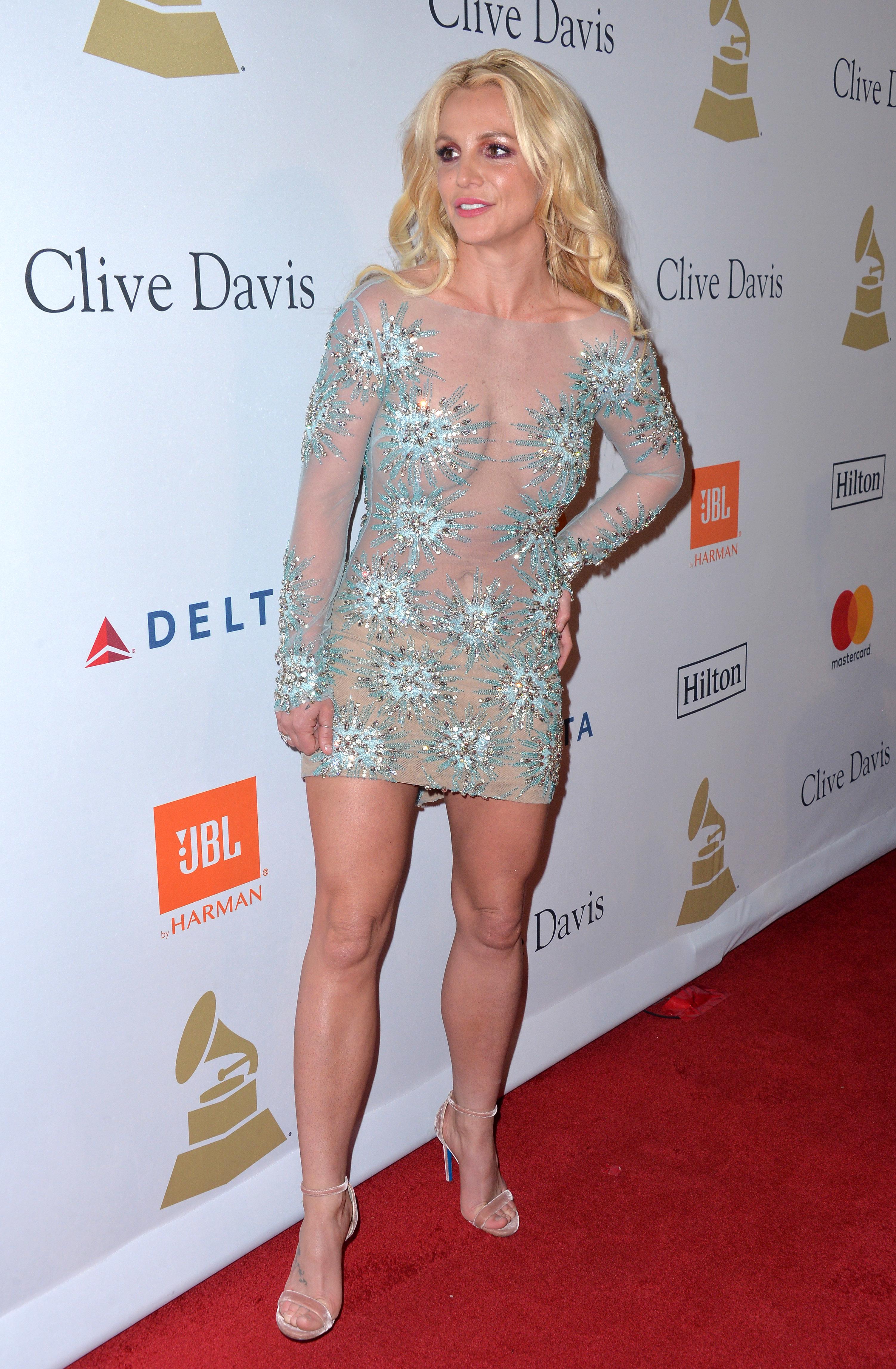 Britney Spearss Feet