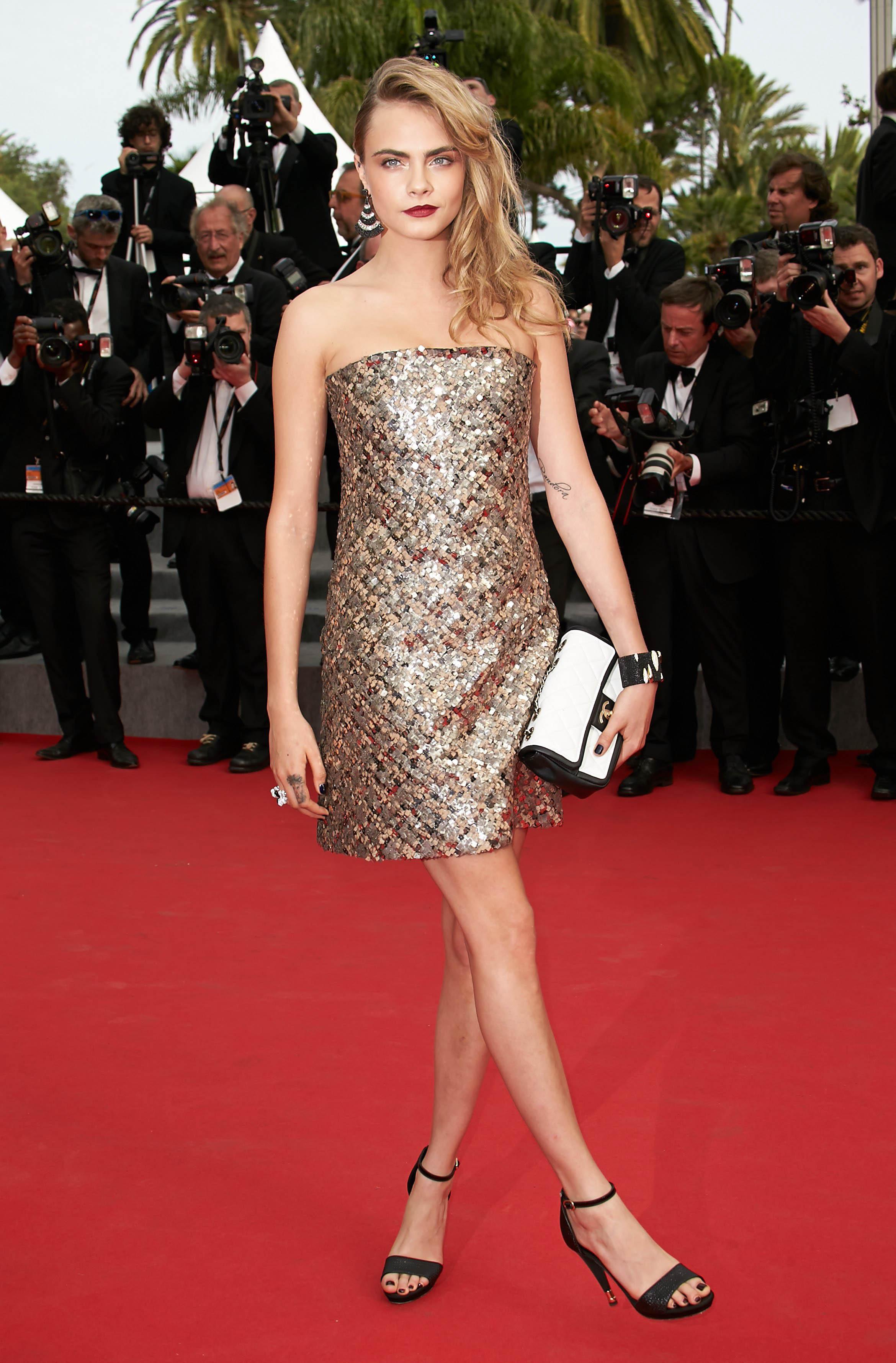 Cara Delevingne's Soles : celebrity_soles - reddit.com