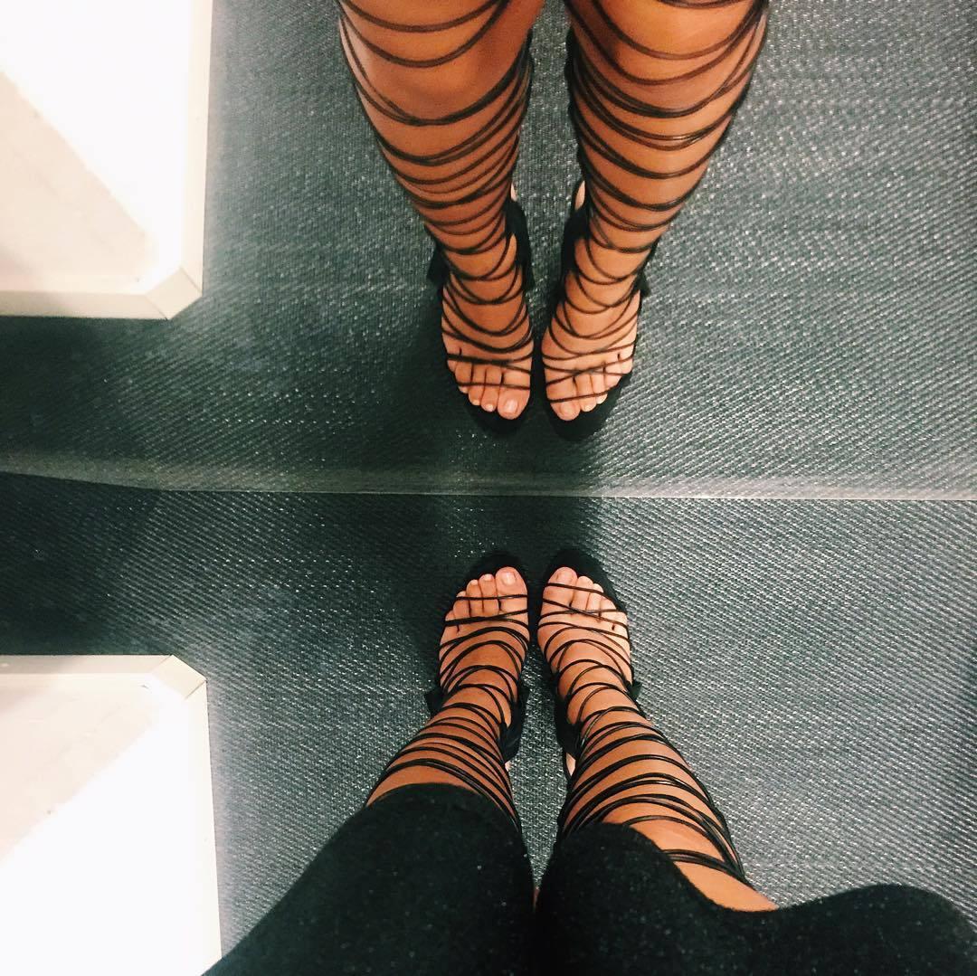 Carmella Roses Feet