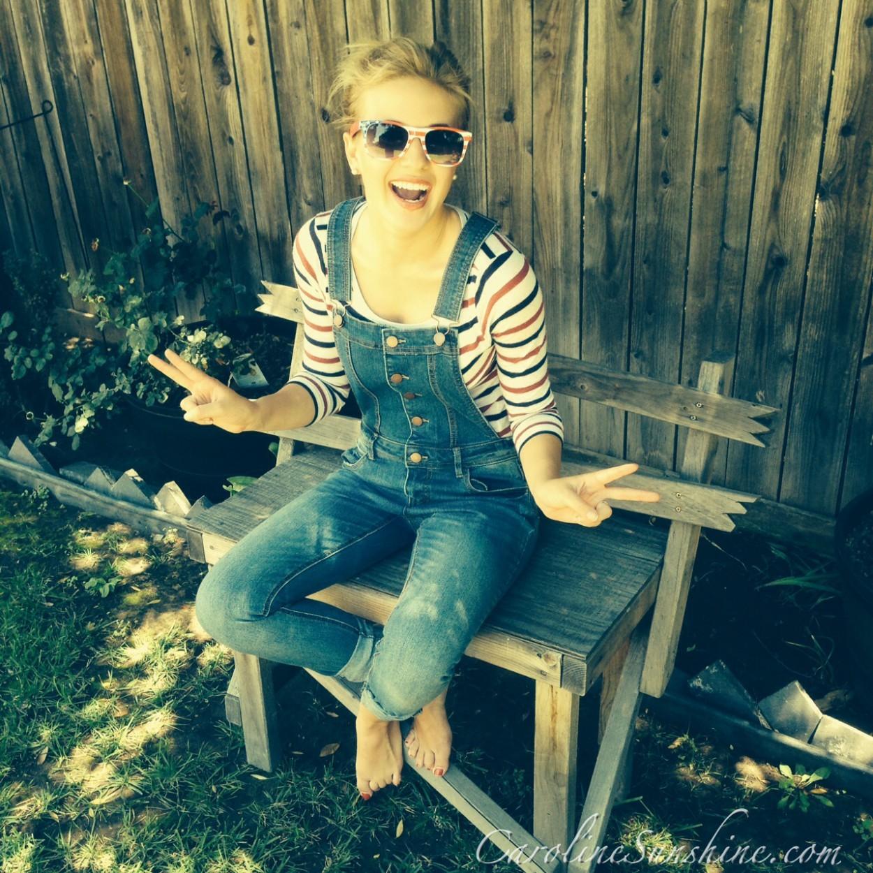 Caroline sunshine feet