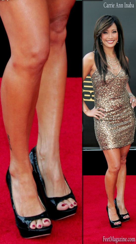 Carrie Anne Inaba Feet 92