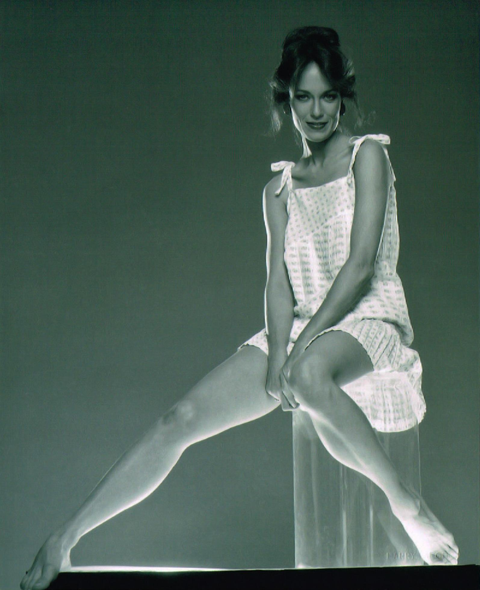 Catherine bach sexy leg photo