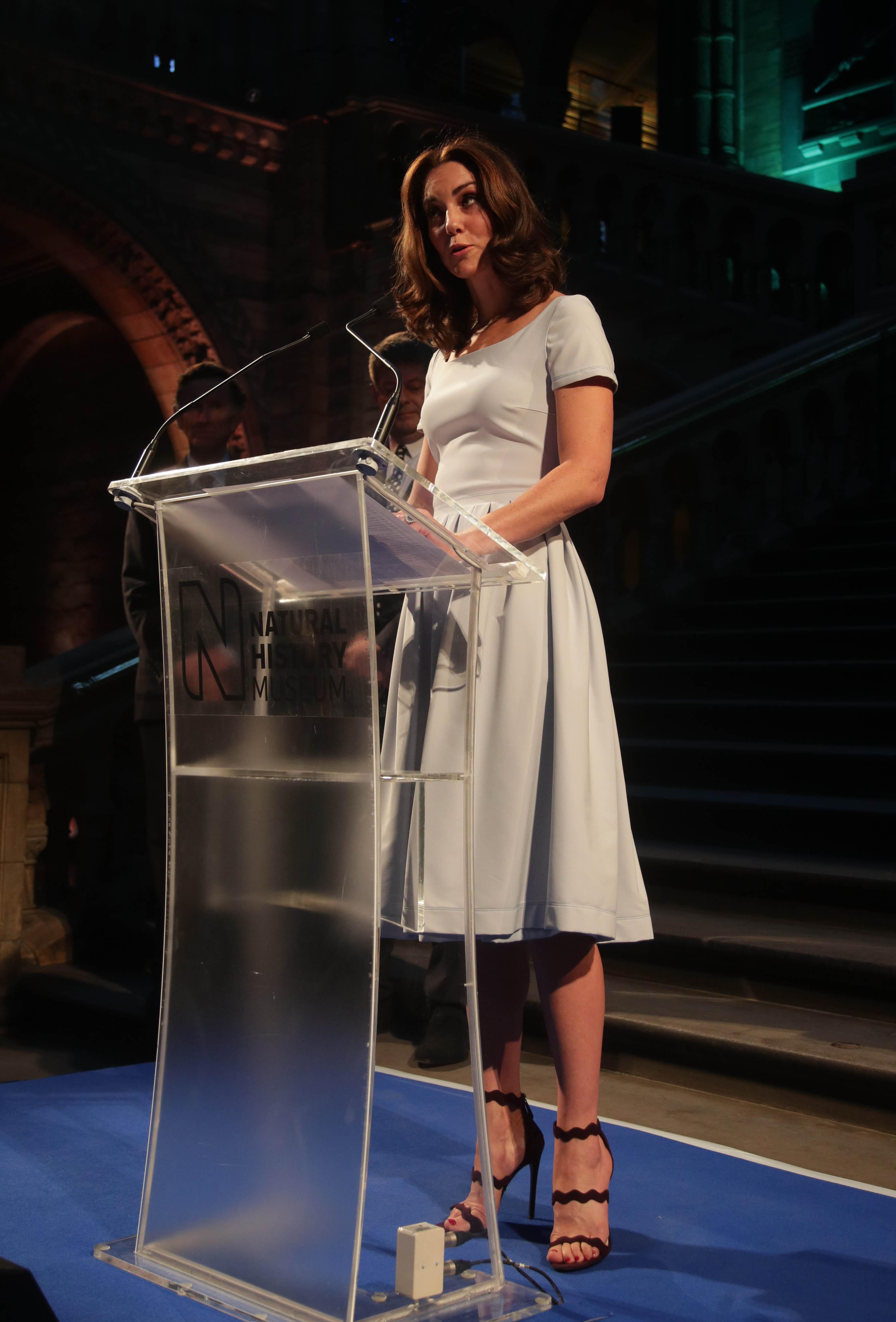Catherine Duchess of Cambridges Feet