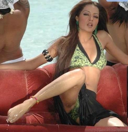 Celina Jaitley In Bikini