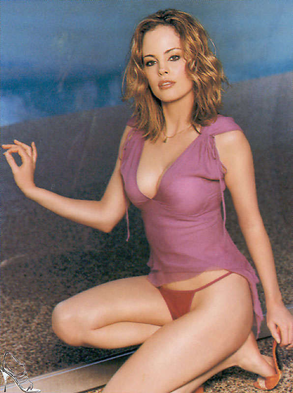 Chandra West - Wallpaper Colection