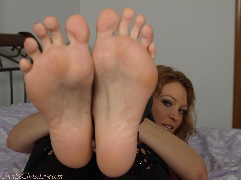 Charlee chase feet