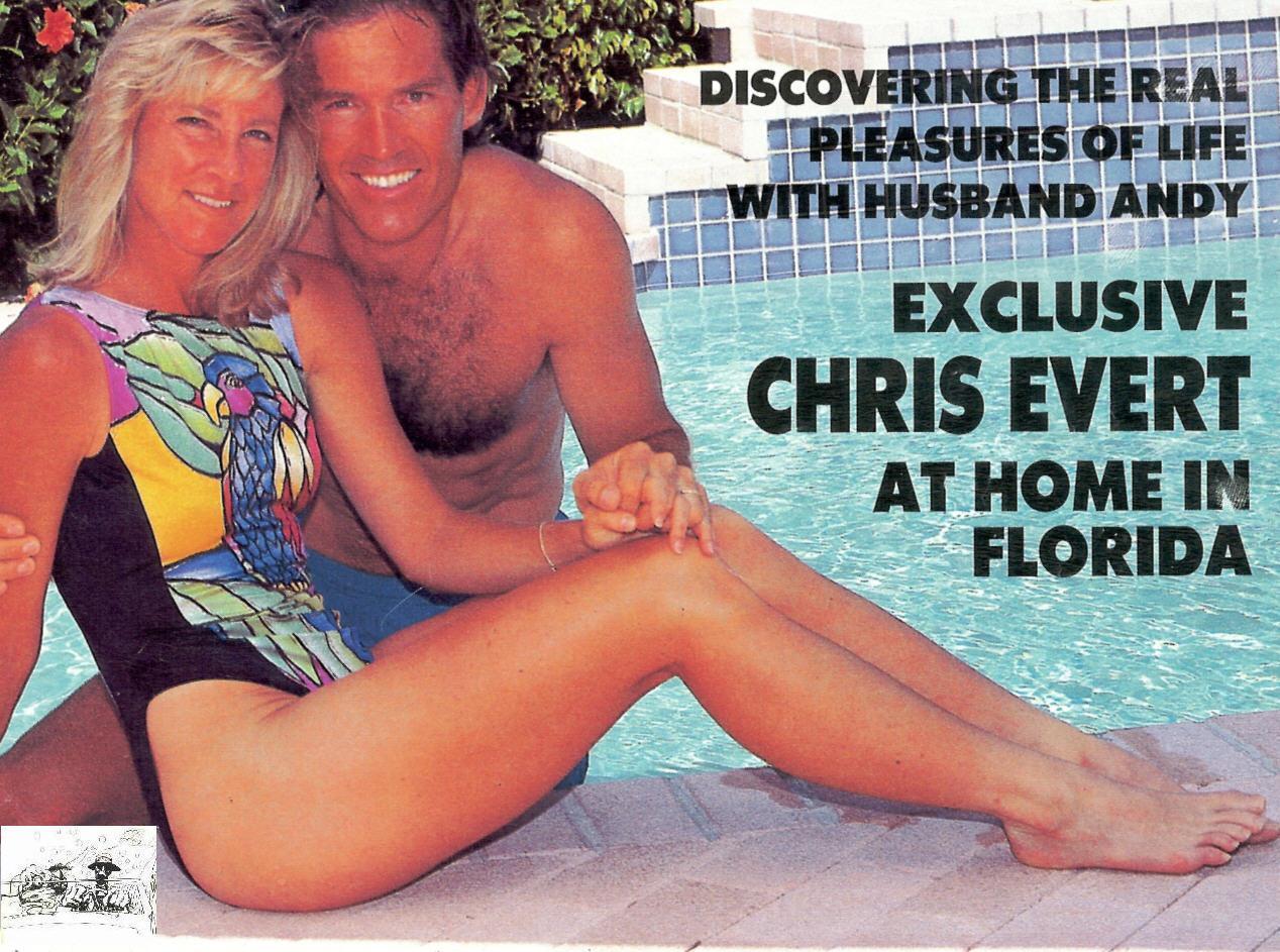 Chris Evert Feet