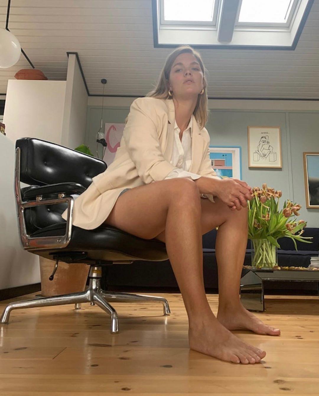 nackt Sofie Johansen Christine Christine Sofie