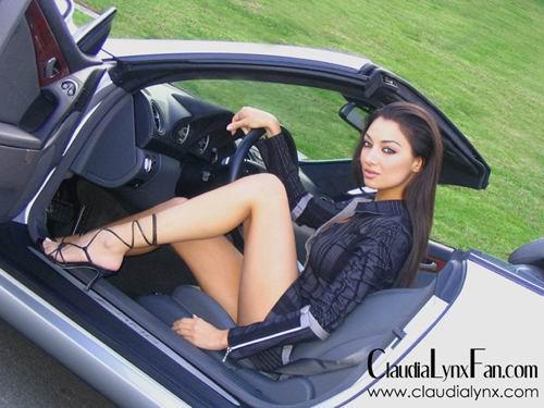 Claudia Lynx Feet