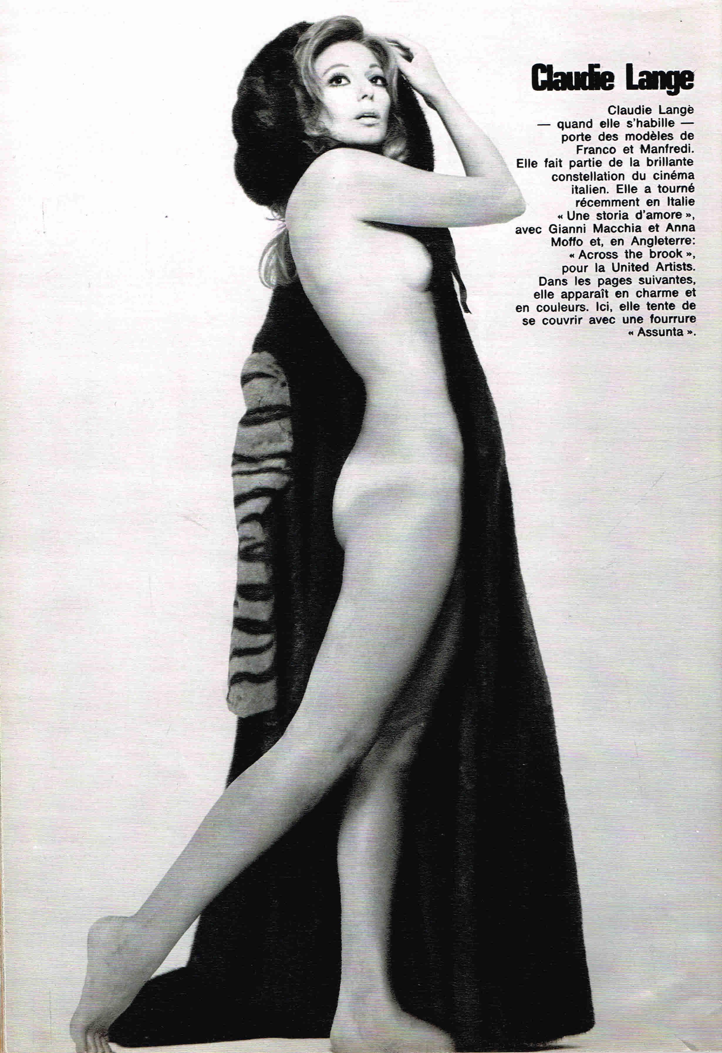 Claudie Lange Nude Photos 35