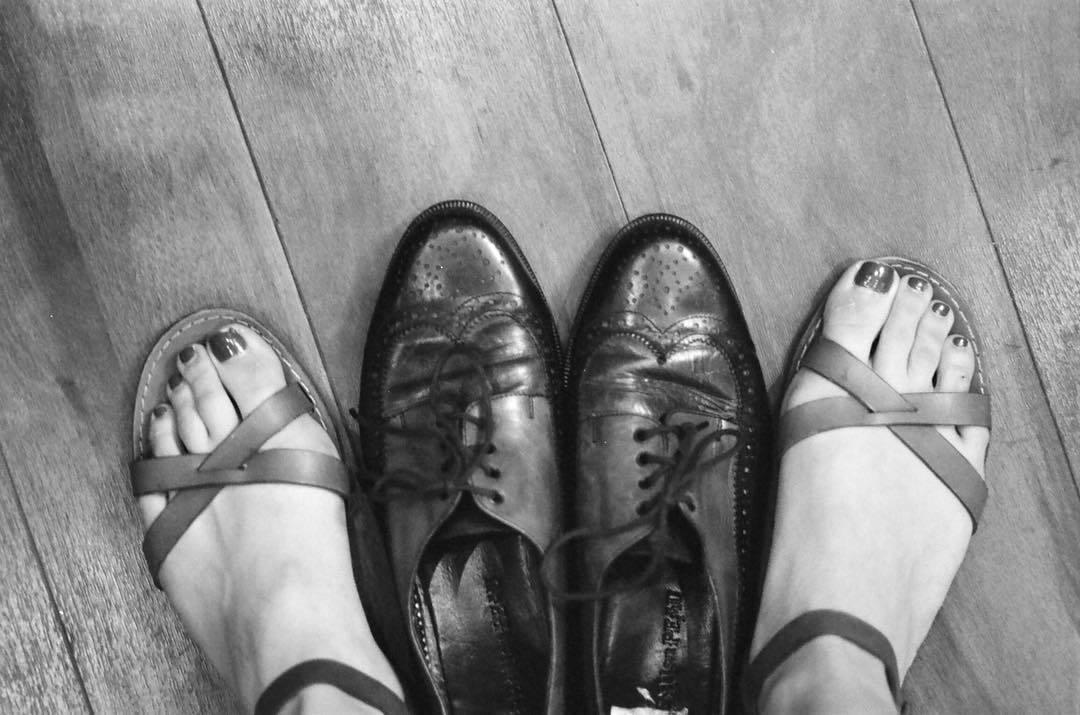 Conor Leslie's Feet