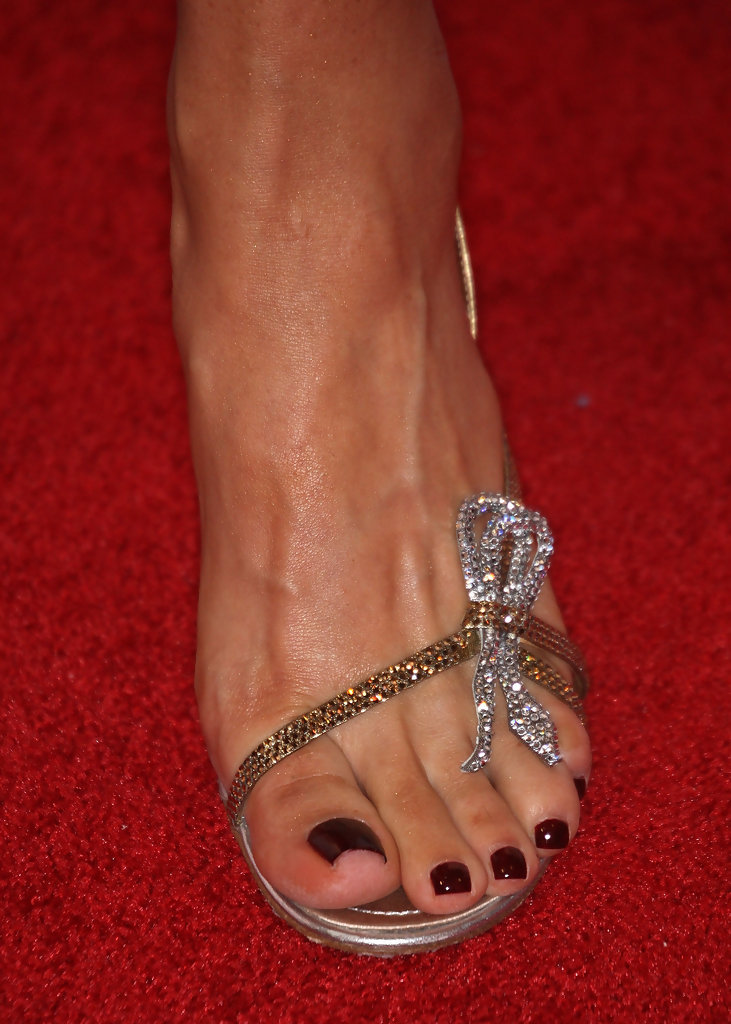 Foot constance fetish marie