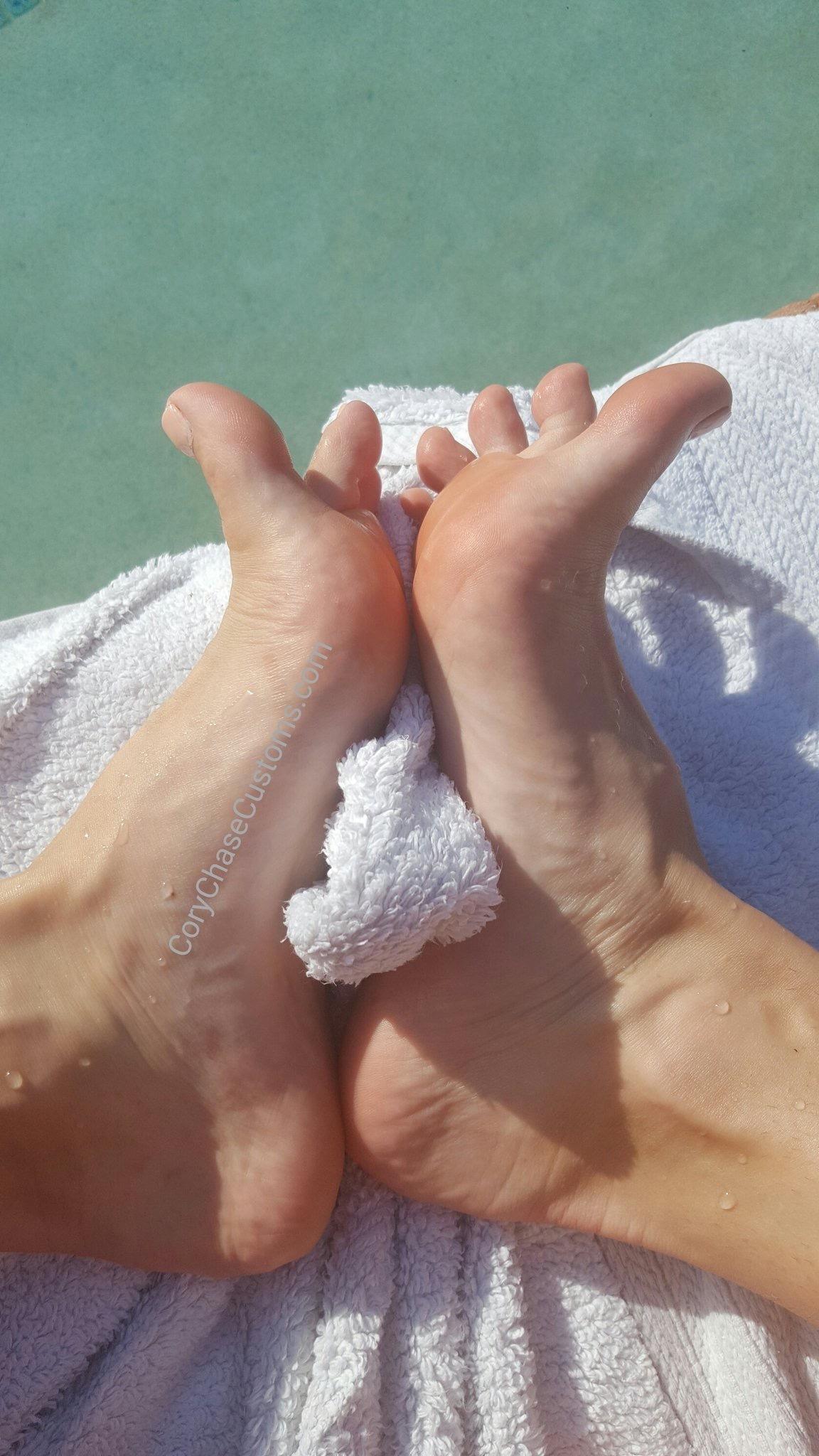 Cory Chase Feet