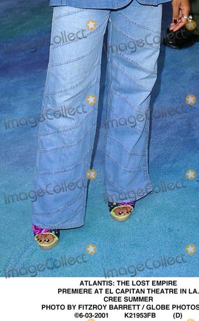 Cree Summer's Feet Rosario Dawson