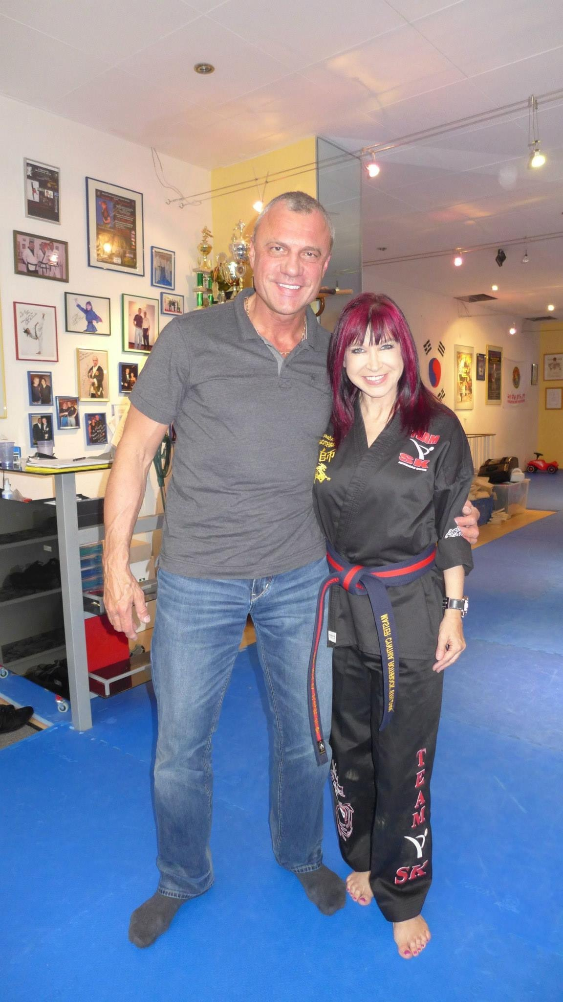 Watch Cynthia Rothrock video