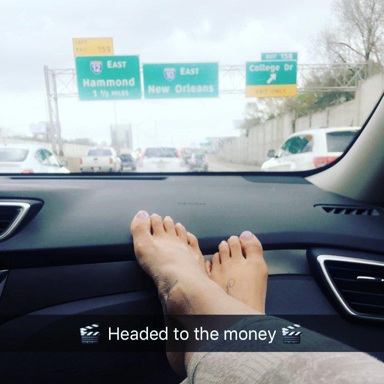 darcel white moreno feet