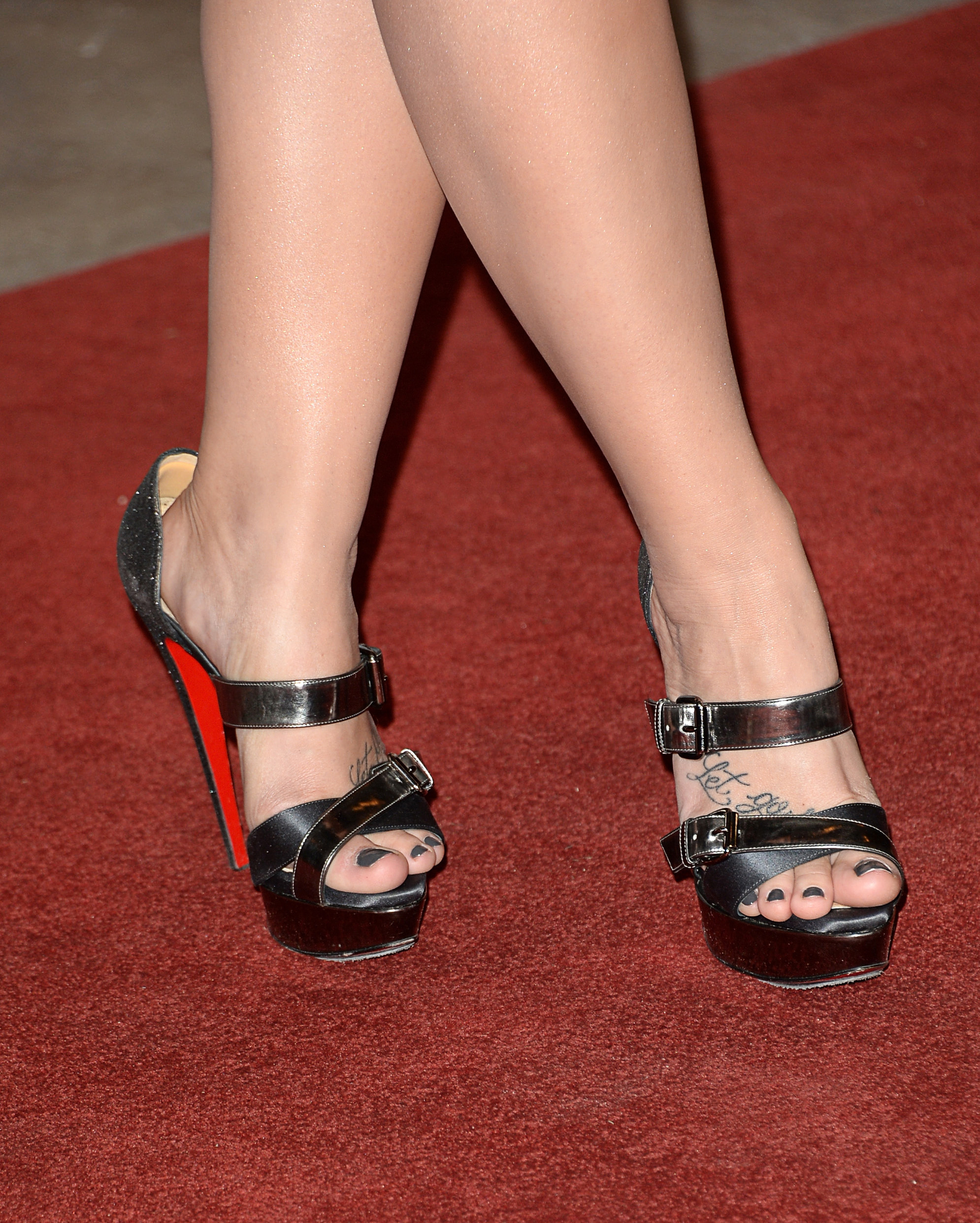 Demi lovato high heels 7