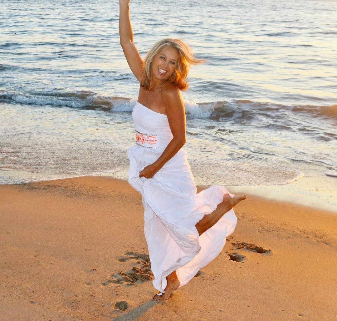 Denise austin feet toes only